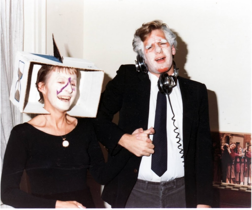 Silliman Halloween 1985 with Fran
